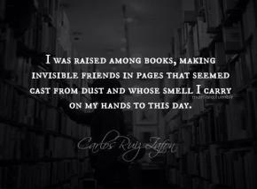 Raised among Books.