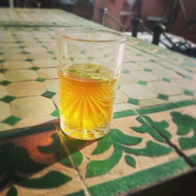 Sweet Moroccan Tea